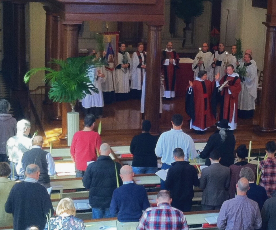 Palm Sunday | 11:15 am Choral Eucharist, Rite II