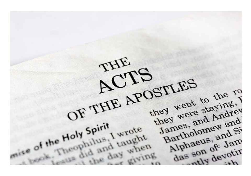 Adult Education | The Acts of the Apostles