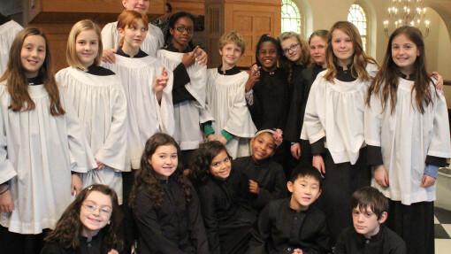 The Choristers of St. Luke